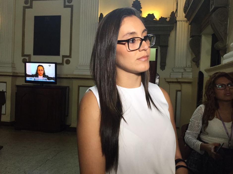 Karina Paz trabajaba en el Congreso. (Foto: Jesús Alfonso/Soy502)
