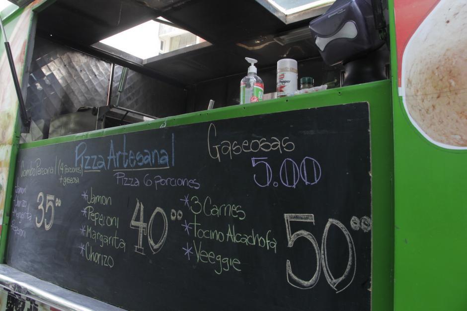 La pizza artesanal tampoco podía faltar a esta cita culinaria. (Foto: Fredy Hernández/Soy502)