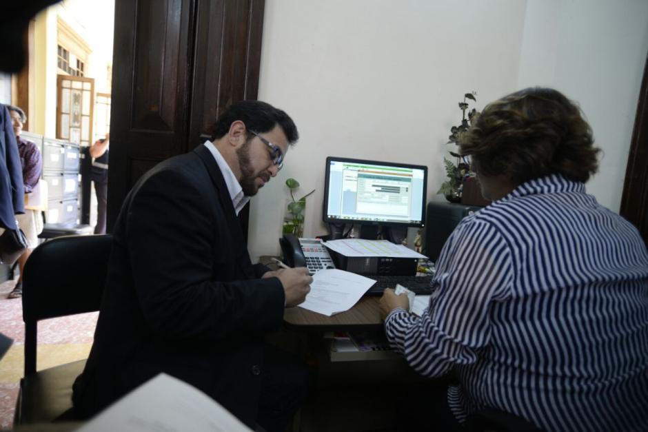 Menocal aseguró que la dirigencia de la UNE no cede espacios a los nuevos liderazgos. (Foto: Wilder López/Soy502)