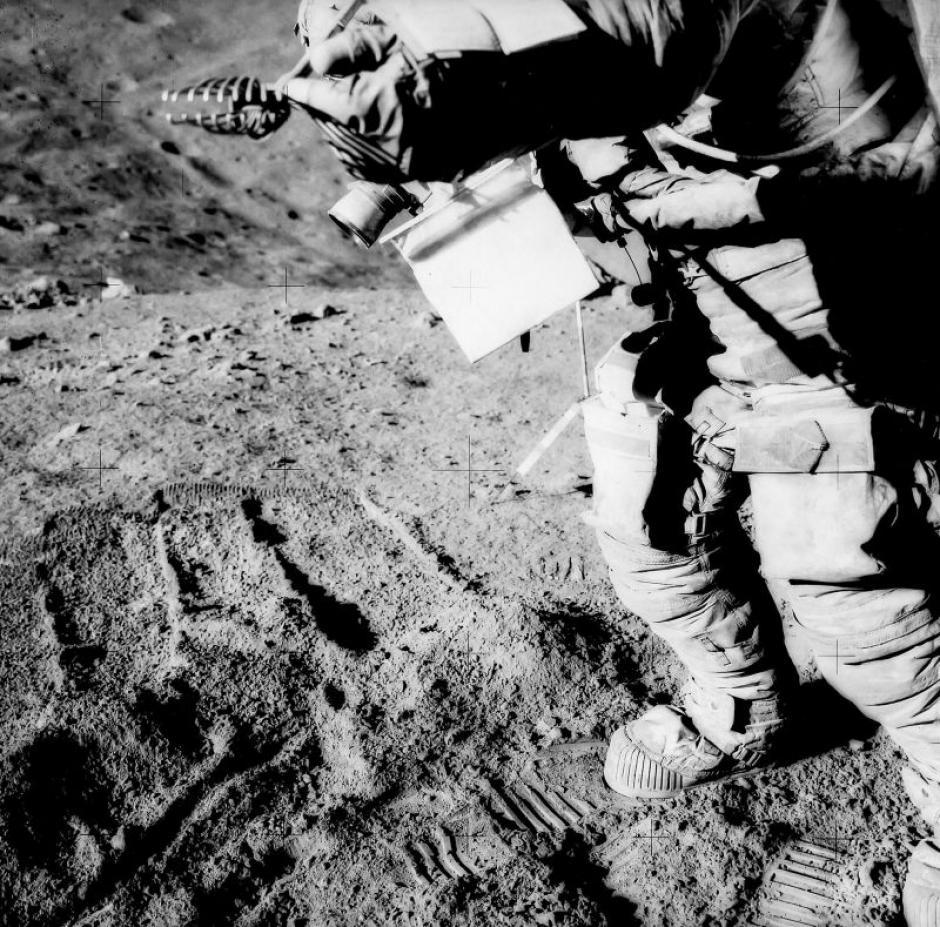 El astronauta David Scott en la misión Apolo 15 en agosto de 1971. (Foto: NASA)