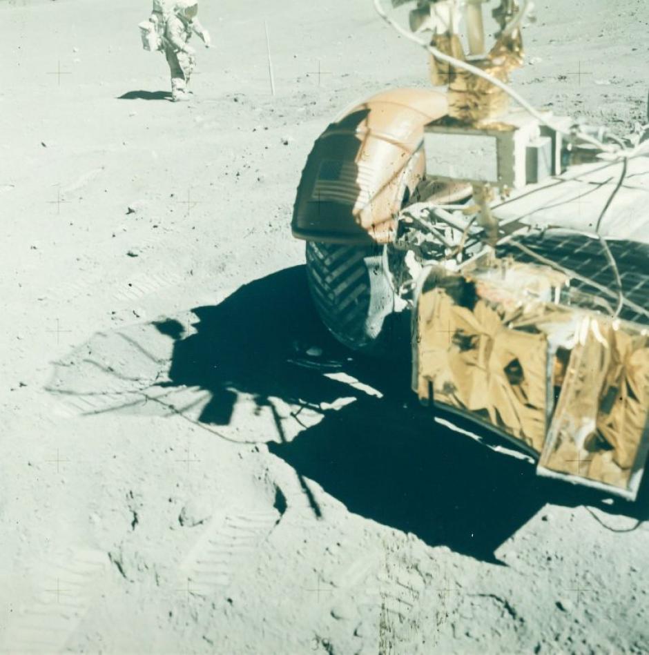 Charles Duke en la misión Apolo 16 en abril de 1972. (Foto: NASA)
