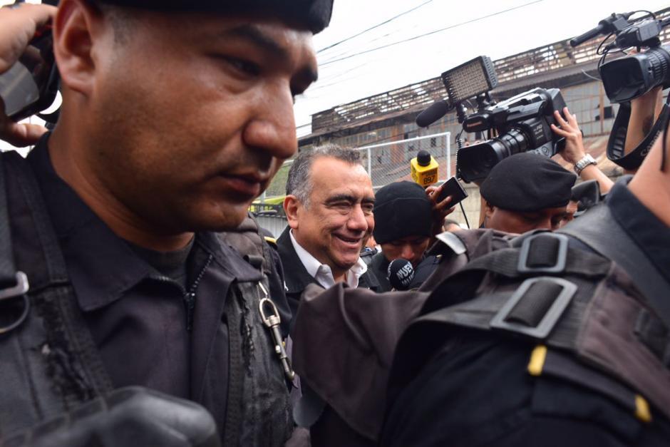 A Martínez se le señala de los delitos de asociación ilícita, tráfico de influencias y financiamiento electoral ilícito. (Foto: Jesús Alfonso/Soy502)