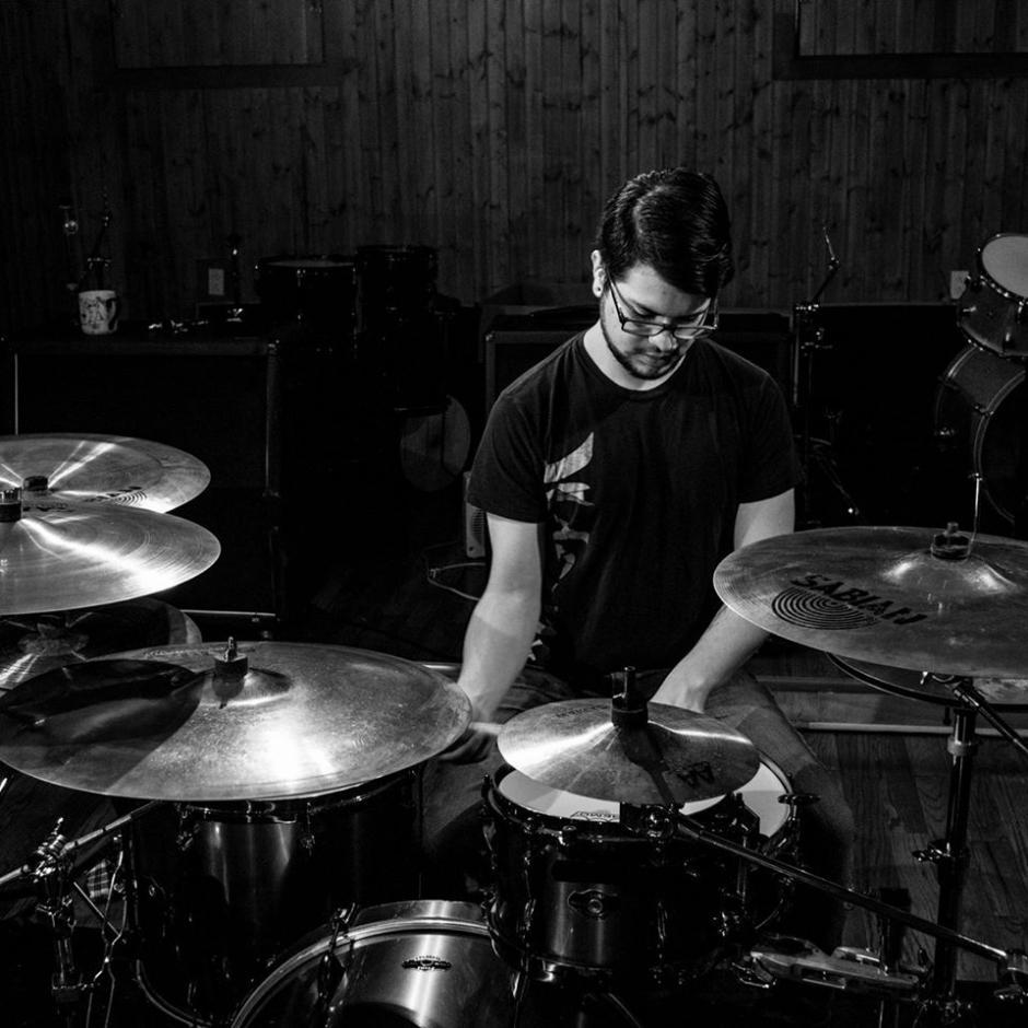 Jorge Jiménez compartirá su talento en la batería. (Foto: Jorge Jiménez)