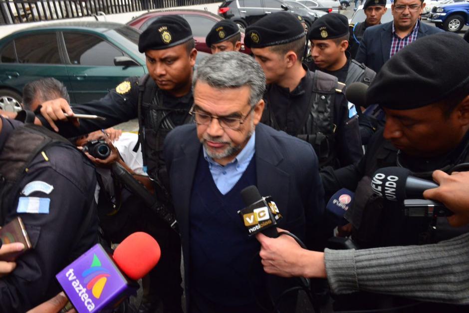 El exdiputado Manuel Barquín aseguró que estaba preparado para este caso. (Foto: Jesús Alfonso/Soy502)