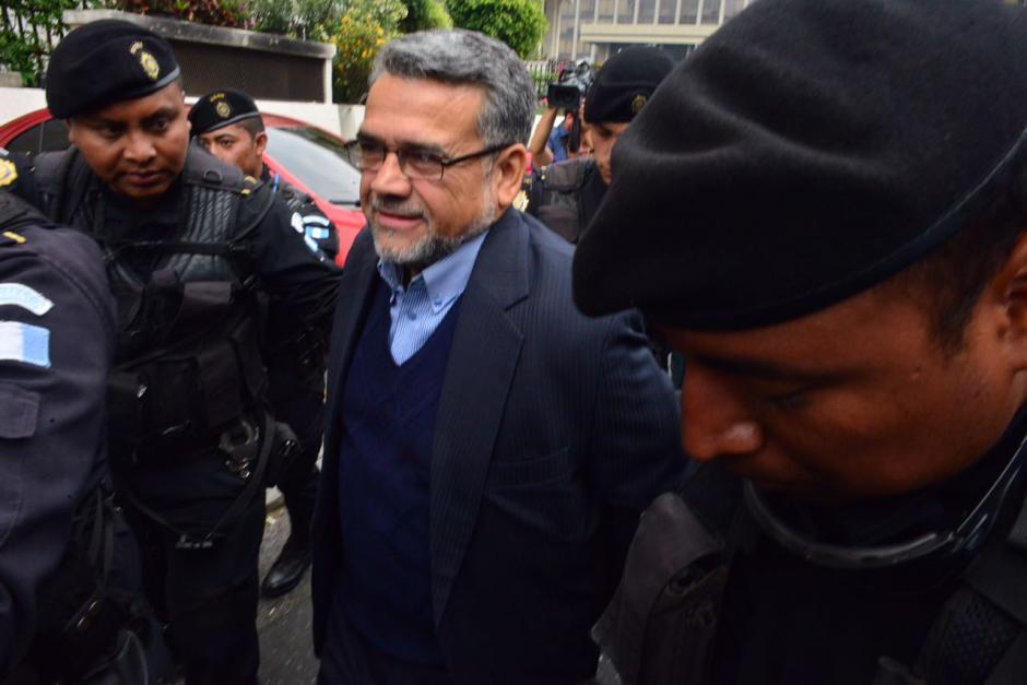Manuel Barquín dijo que confía en la justicia.  (Foto: Jesús Alfonso/Soy502)