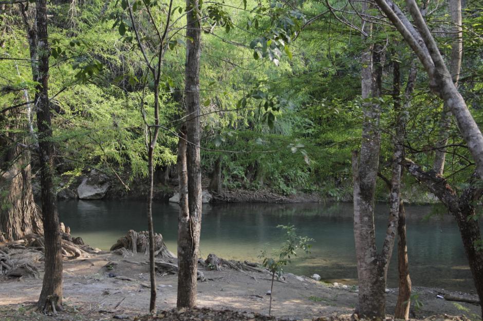 El río Azul es el principal atractivo de este proyecto. (Foto: Fredy Hernández/Soy502)