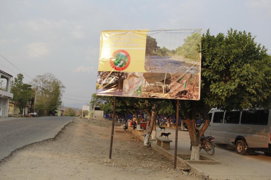 La comunidad de Nueva Catarina también busca atraer a los turistas. (Foto: Fredy Hernández/Soy502)