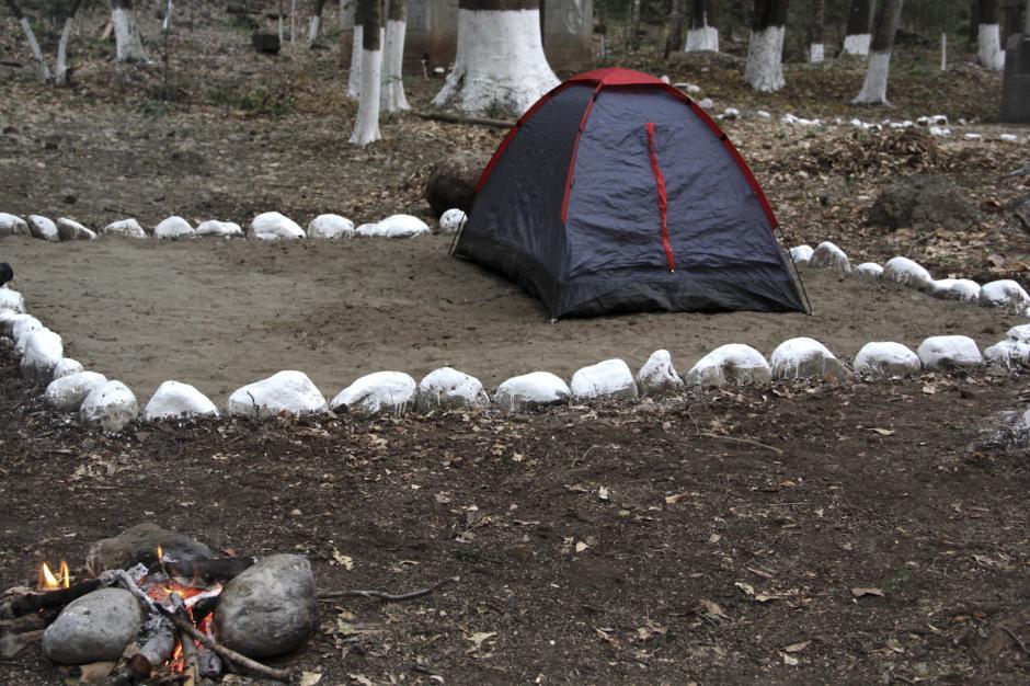 La idea es que los visitantes puedan acampar en la zona. (Foto: Fredy Hernández/Soy502)