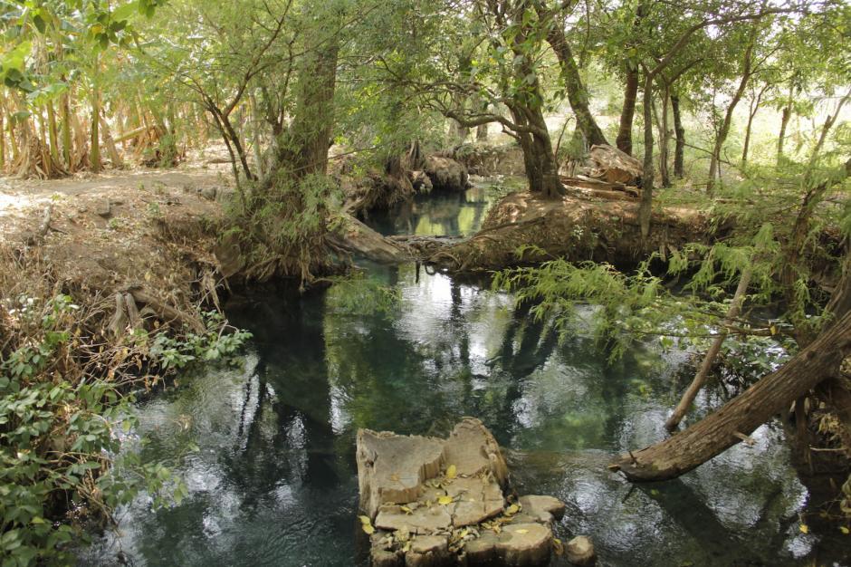 El río Jordán sorprende a los visitantes con su colorido. (Foto: Fredy Hernández/Soy502)
