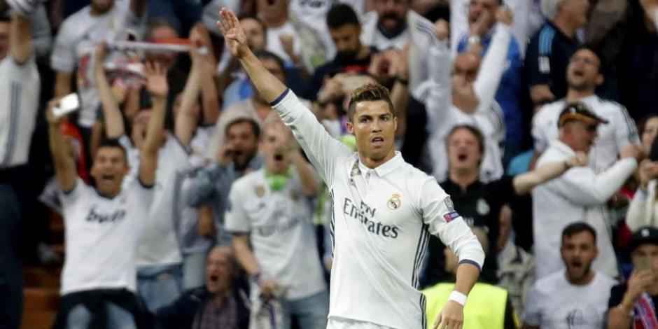 Cristiano Ronaldo fue el hombre de la noche para el Real Madrid. (Foto: Twitter)