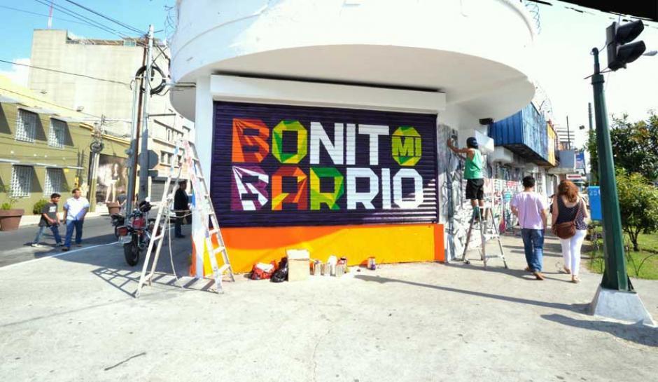 El festival espera reunir a artistas urbanos durante cinco días. (Foto: Alcaldía Auxiliar zona 4)