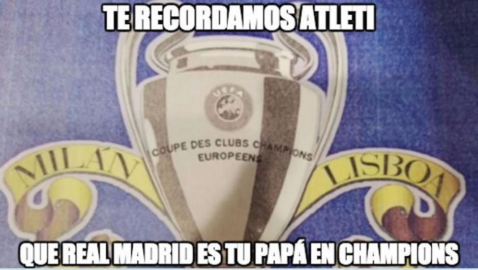 Ya es constumbre que el Real Madrid supere al Atlético de Madrid. (Foto: Twitter)
