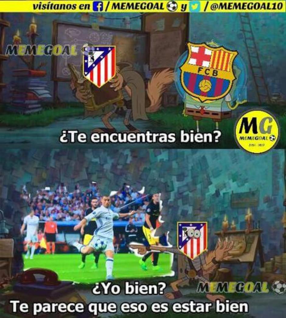 El Atléitco y Barcelona ven pasar al Real Madrid. (Foto: Twitter)