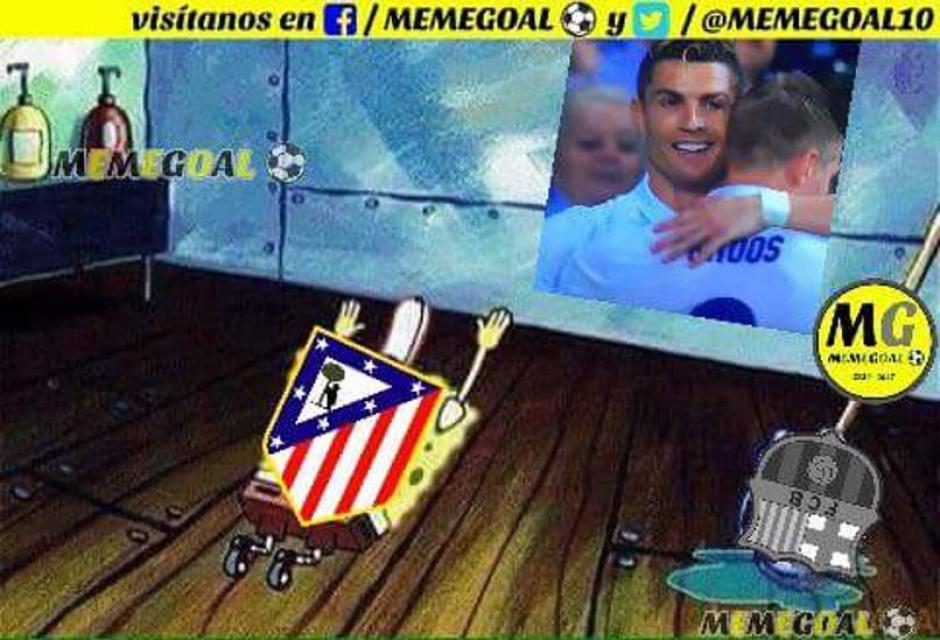 El Atlético se rinde a CR7 y el Madrid. (Foto: Twitter)