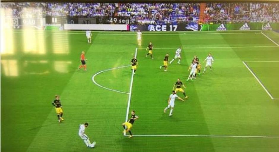 Hubo fuera de juego en el gol de cristiano ronaldo soy502 for Fuera de juego real madrid