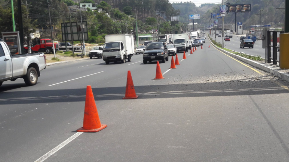 En el lugar se instalaron varias señales de tránsito. (Foto: Dalia Santos/PMT)