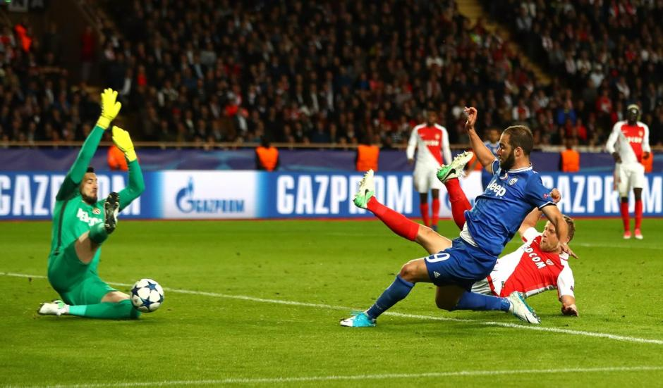 "El ""Pipita"" fue el hombre gol de la Juve en Mónaco. (Foto: AFP)"