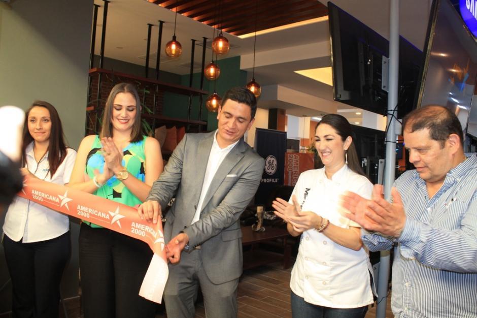 La reconocida chef Mirciny Moliviatis estuvo en la inauguración. (Foto: Felícito Nehemías Gutiérrez Vásquez / corresponsal ND)