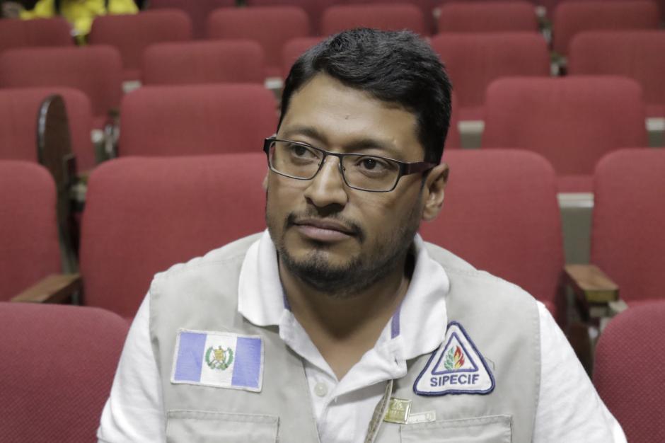 César Hernández es combatiente de Chiquimula desde hace 13 años. (Foto: Alejandro Balán/Soy502)
