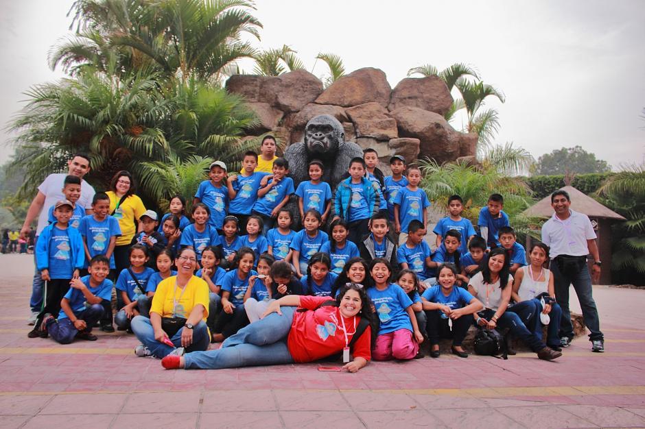 Los niños también conocieron el Zoológico La Aurora. (Foto: Germán Velásquez)