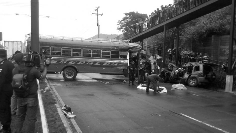 El accidente dejó una persona fallecida. (Foto: Provial)