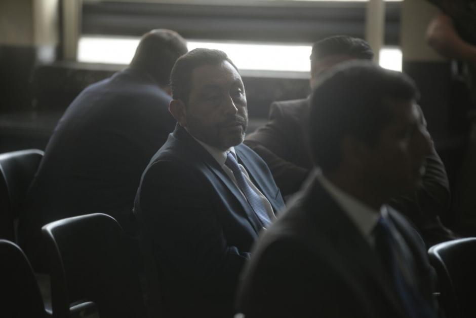 El exministro de Gobernación, López Bonilla, también está señalado. (Foto: Wilder López/Soy502)