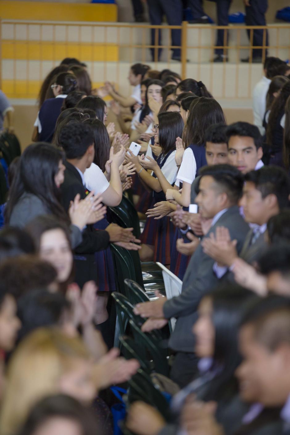 Los asistentes realizaron dinámicas para compartir lo aprendido en el congreso. (Foto: George Rojas/Soy502)