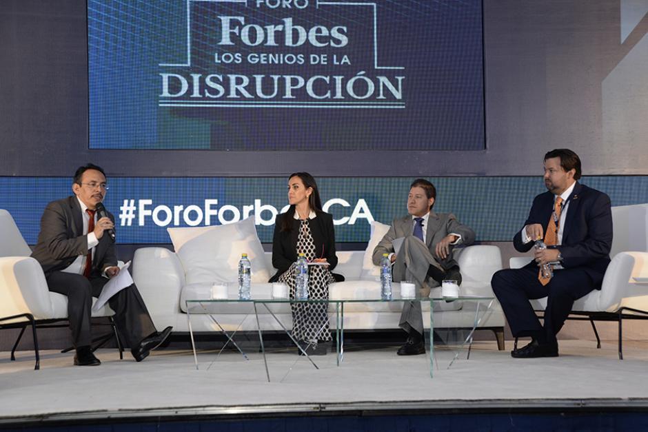 Destacados empresarios de Centroamérica debatieron acerca cómo debería ser el empresario del futuro. (Foto: Cecilia Vicente López/ND)