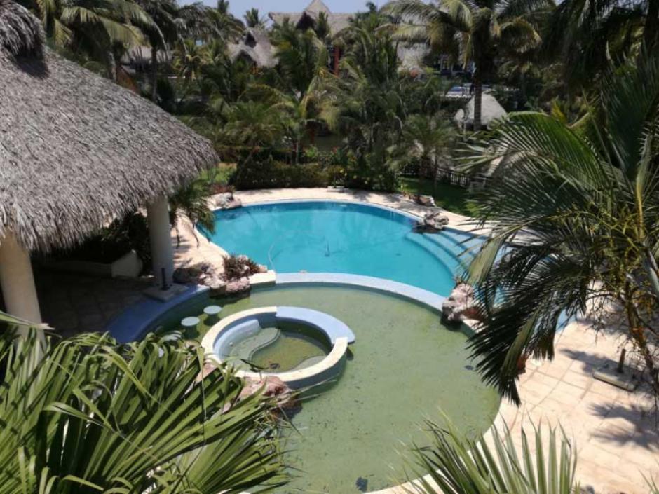 La lujosa casa de descanso tiene un valor aproximado de 4.5 millones de quetzales. (Foto: Senabed)