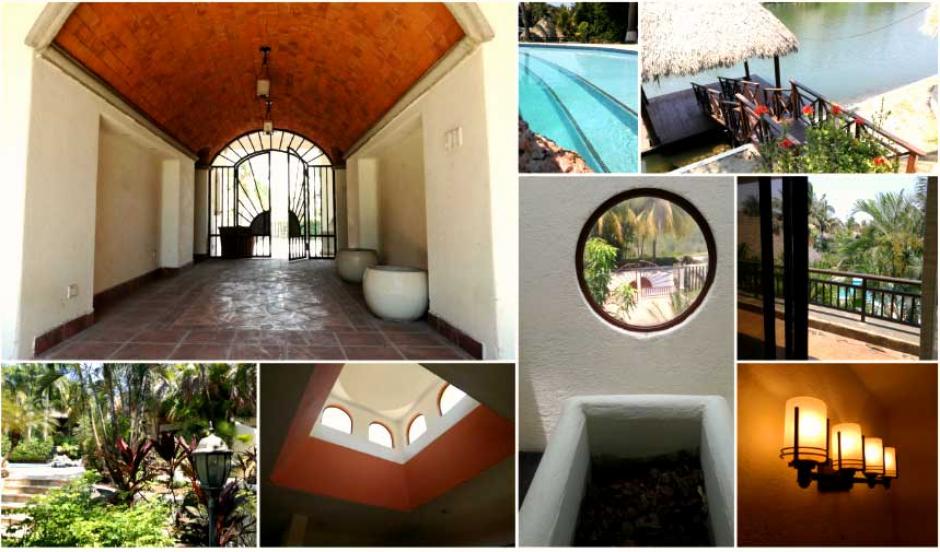 La propiedad cuenta con dos piscinas y un rancho de descanso. (Foto: Senabed)