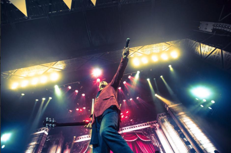 Ricardo Arjona arrancó su gira Circo Soledad en Toluca, México. (Foto: Twitter/Ricardo Arjona)