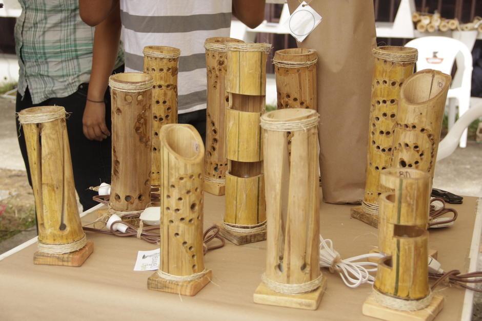 Las Bamboo Light tuvieron gran aceptación entre los visitantes. (Foto: Fredy Hernández/Soy502)