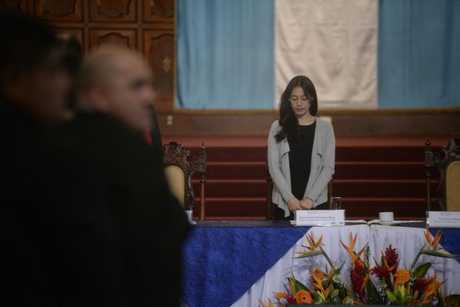 La ministra de Salud asegura que la construcción depende de la aprobación de un préstamo. (Foto: Wilder López/Soy502)