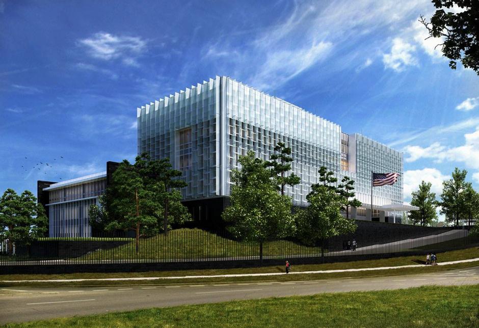 La nueva ubicación de la embajada en Guatemala será la zona 16. (Foto: Facebook)