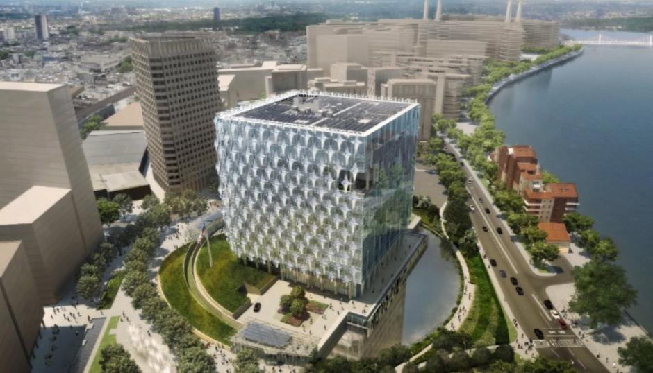 La sede de Londres será un cubo de vidrio. (Foto: CNN)