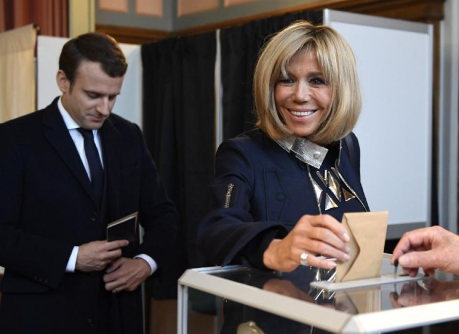 Emmanuel y Brigitte se casaron finalmente en 2007. (Foto: AFP)