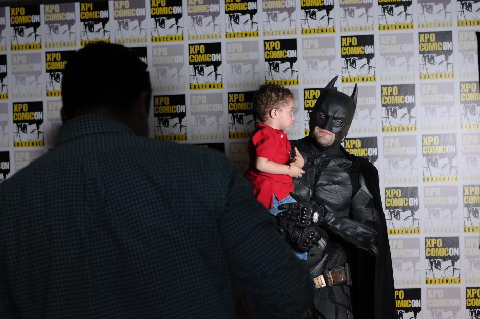 Batman fue de las atracciones más importantes de la convención, aunque para algunos no fue de sus preferidos. (Foto: Jesús Alfonso/Soy502)