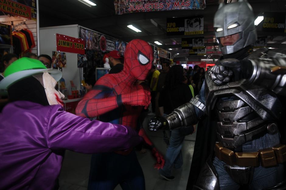 La convención reunió a los personajes importantes de las tiras cómicas y a sus villanos. (Foto: Jesús Alfonso/Soy502)