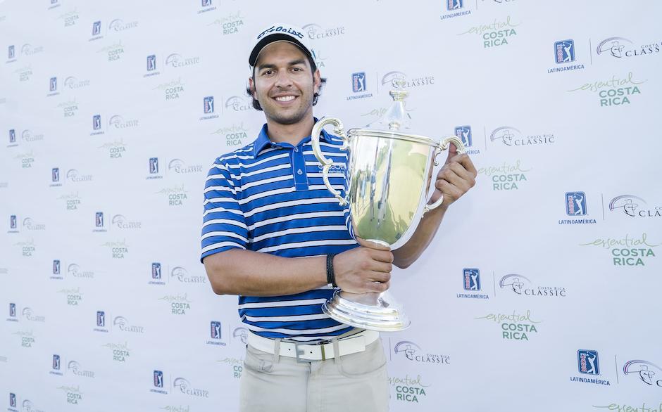 Toledo escribe su nombre en la historia del golf guatemalteco. (Foto: Enrique Berardi/PGA TOUR)