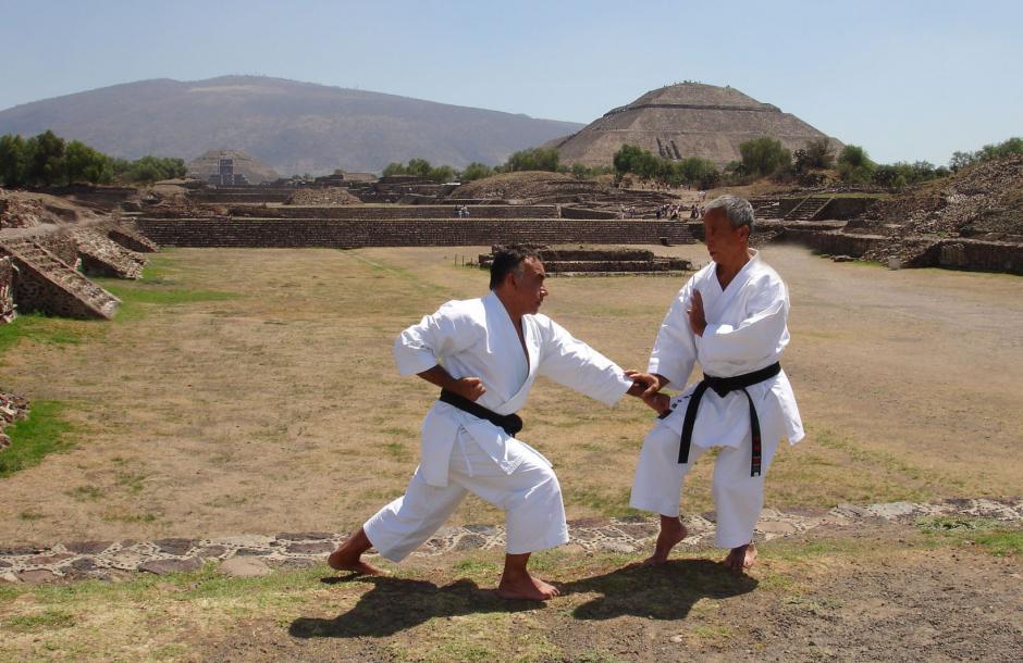 El maestro Carlos Molina ha destacado en le mundo del Karate. (Foto: Carlos Molina)