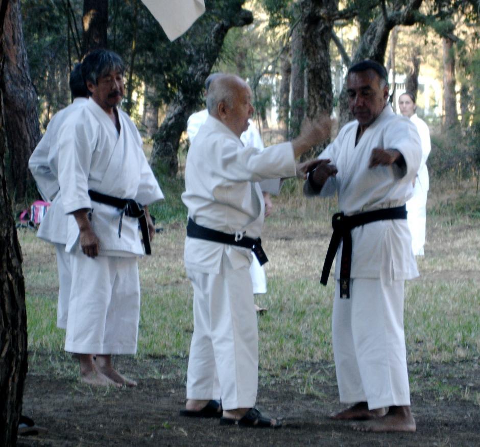 Su maestro lo nombró su representante para traducir sus memorias de las artes marciales. (Foto: Carlos Molina)