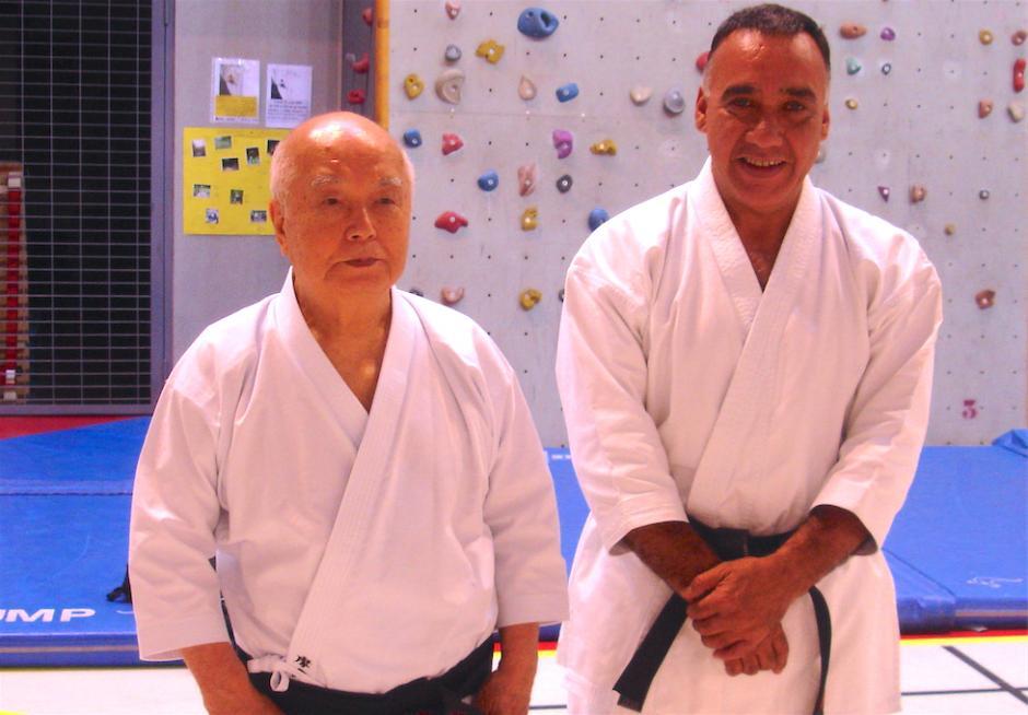 Carlos Molina es un destacado maestro del Karate. (Foto: Carlos Molina)