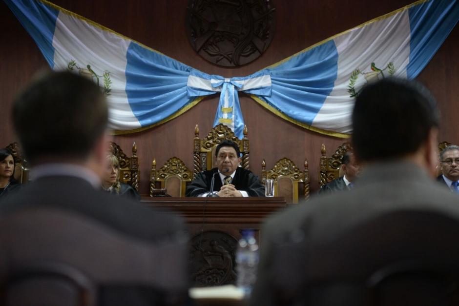 La CC dio su postura durante una audiencia pública. (Foto: Wilder López/Soy502)