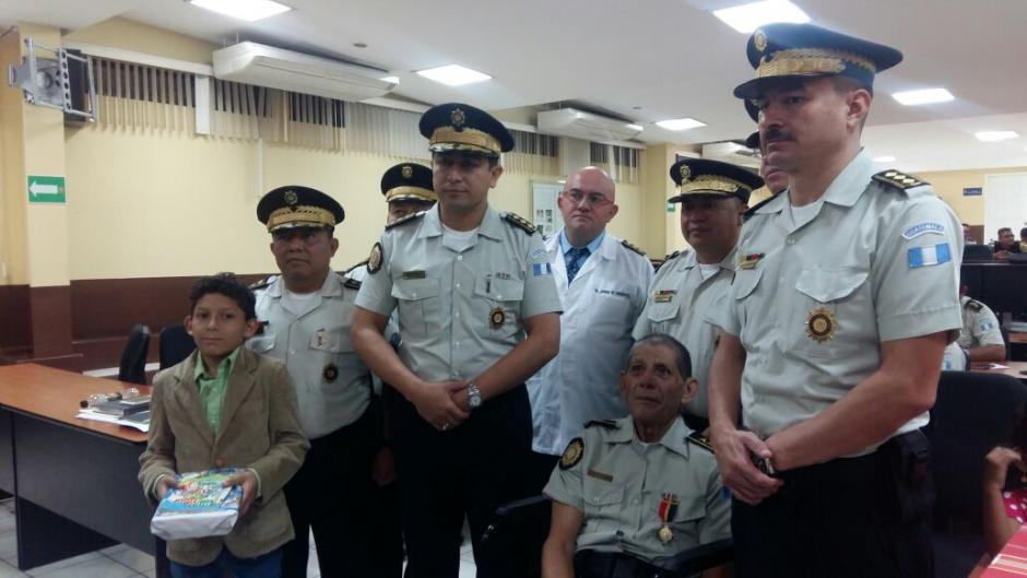García Calvillo estaba de alta en la comisaría de Chimaltenango, donde se desempeñaba como oficinista. (Foto: PNC)