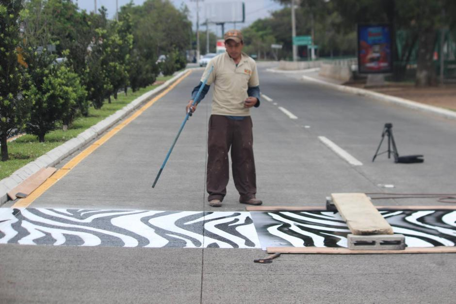 Las calles frente al zoológico son las primeras en contar con estos pasos. (Foto: Zoológico La Aurora)