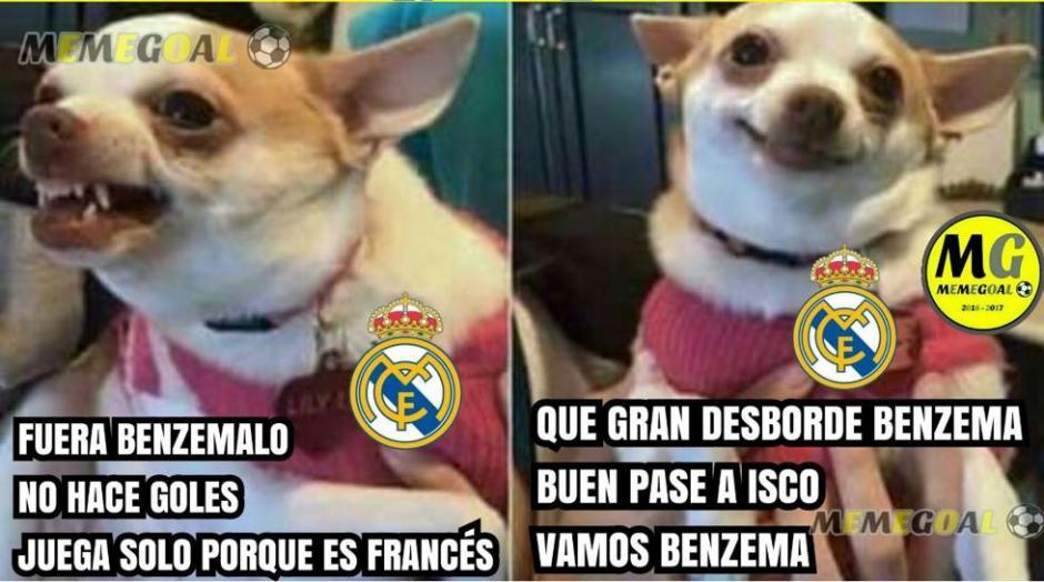 Los que no querían a Benzema y que ahora lo vuleven a querer. (Foto: Twitter)