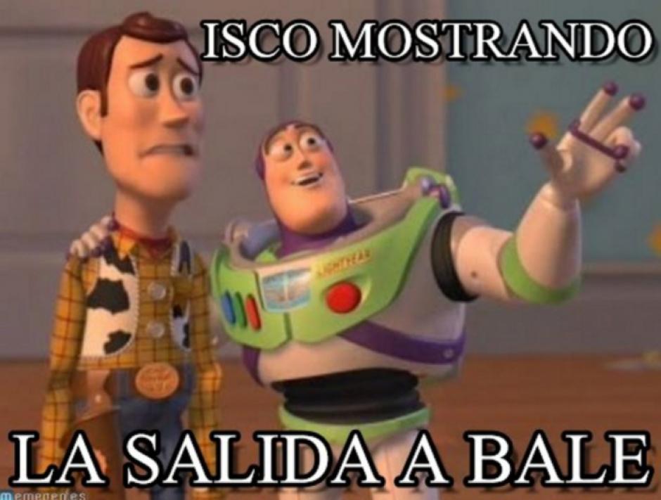 De Isco para Bale. (Foto: Twitter)