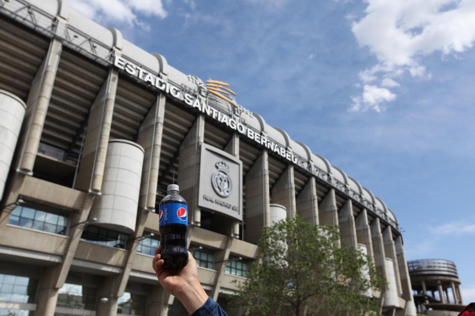 Pepsi, patrocinador oficial de la Champions, compartió con los aficionados la pasión por el fútbol. (Foto: cortesía Pepsi)