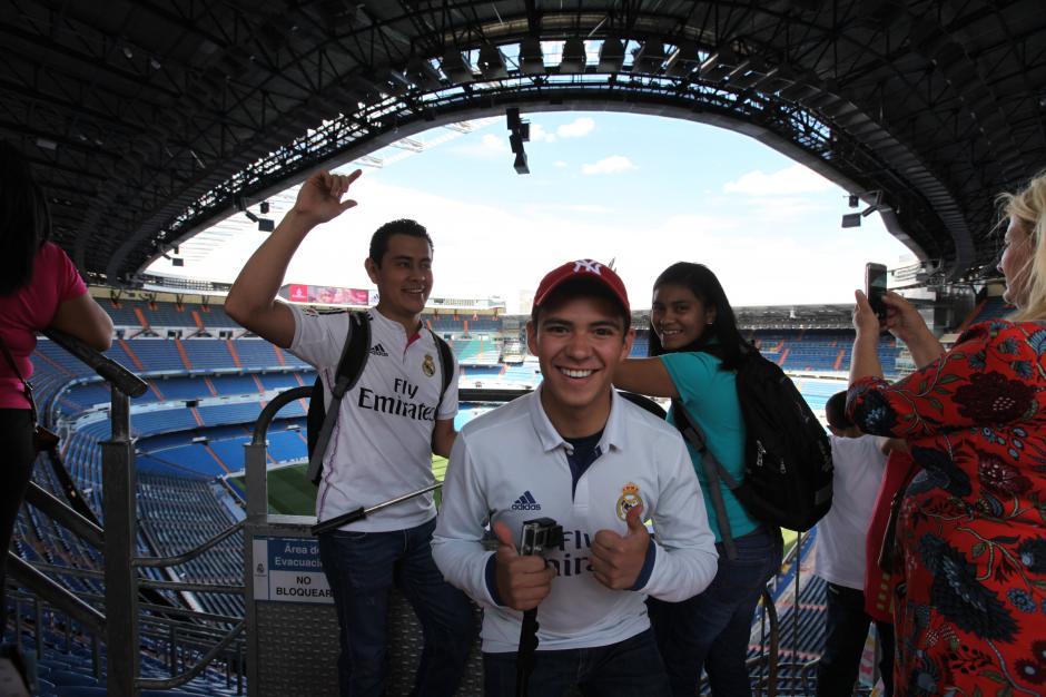 """Los jóvenes vivieron una experiencia """"futbolera"""" soñada. (Foto: cortesía Pepsi)"""