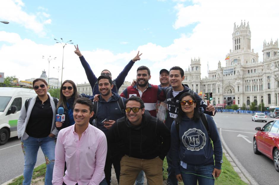 Seis jóvenes aficionados recorrieron los lugares icónicos de Madrid. (Foto: cortesía Pepsi)